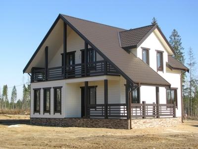Производство и строительство каркасных домов. Речица - main